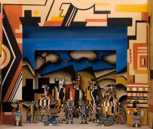 Fernand Leger 'La Creation du Monde' set design (1923)