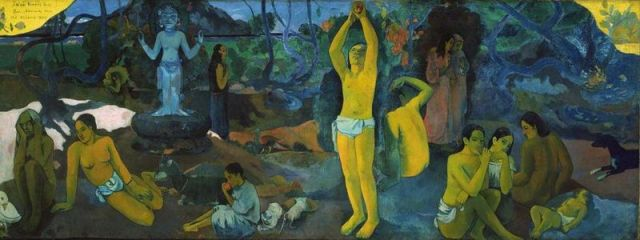 Gauguin Where do we come from Who are we Where are we going