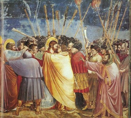 Giotto Kiss of Judas 1304 - 6