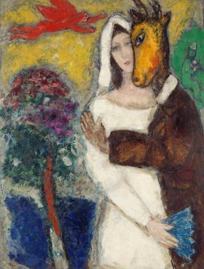 Chagall Songe d'une nuit d'ete
