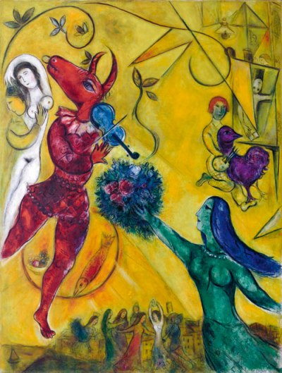 Chagall The Dance 1950 - 52