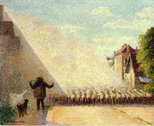 Camille Pissarro Flock of Sheep