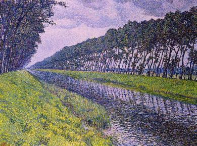 Theo van Rysselberg Canal in Flanders