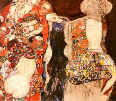 Klimt The Bride