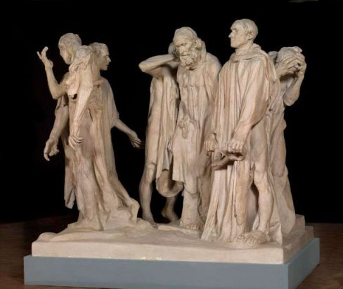 Auguste Rodin 'The Burghers of Calais' (1889)