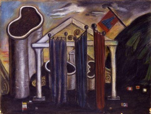 Giorgio de Chirico 'Mysterious Baths' (1935)