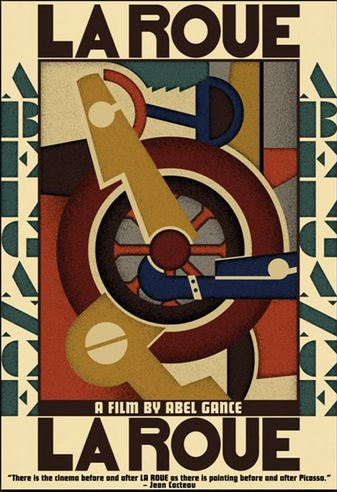 Leger 'La Roue' film poster (1923)
