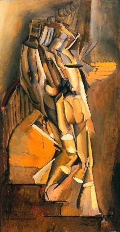 Marcel Duchamp 'Nude Descending a Staircase' (1911)