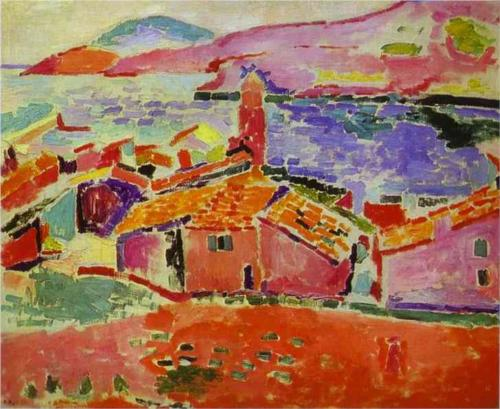 Matisse View of Collioure