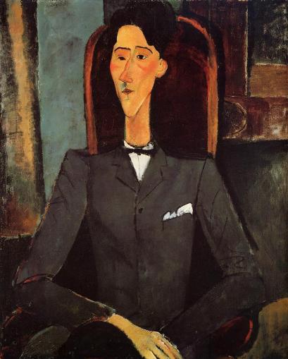 Amedeo Modigliani Portrait of Jean Cocteau (1917)