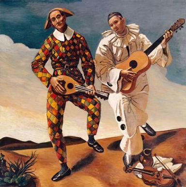 André Derain Harlequin et Pierrot (1924)