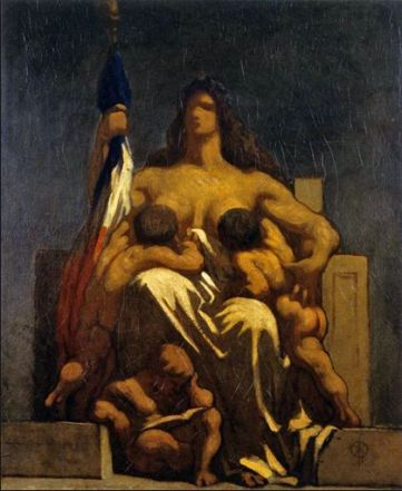 Daumier The Republic