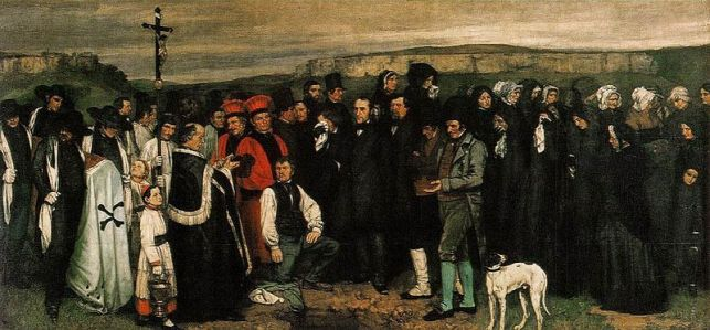 Gustave_Courbet_-_Burial_at_Ornans (1849 - 50)