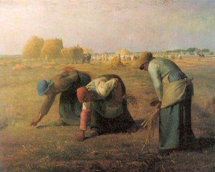 Jean-François Millet 'The Gleaners' (1857)
