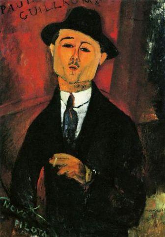 Modigliani Portrait of Paul Guillaume (1915)