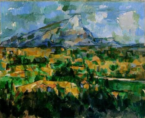 Paul Cézanne Mont Sainte-Victoire, c.1902