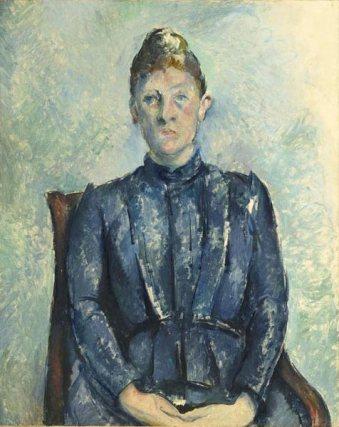 Paul Cézanne Portriat of Madame Cézanne (c.1890)
