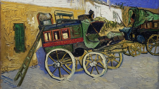 Vincent van Gogh Tarascon Stage Coach (1888)