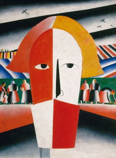 Malevich 'Head of a Peasant' (1928 - 29)