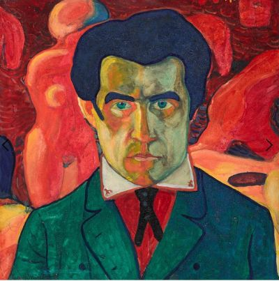 Malevich 'Self Portrait' (1908 - 10)