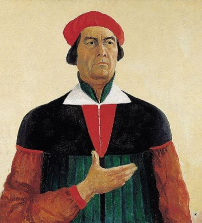 Malevich 'Self Portrait' (1933)