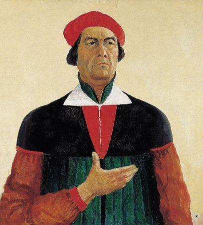 Malevich 'Self Portrait' (1933)