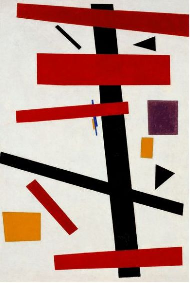 Malevich 'Supremus No 50' (1915)