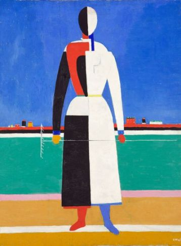 Malevich 'Woman with Rake' (1930 - 32)
