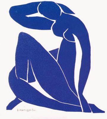 Matisse Blue Nude II (1952)