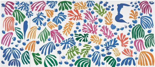 Matisse 'The Parakeet and the Mermaid' (1952)