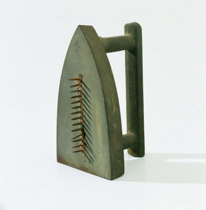 Man Ray 'Cadeau' (1974, replica of 1921 original)