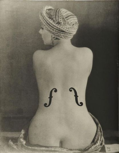 Man Ray 'Le Violon d'Ingres' (1924)