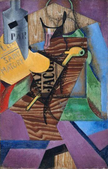 Juan Gris 'Nature morte au livre' (1913)