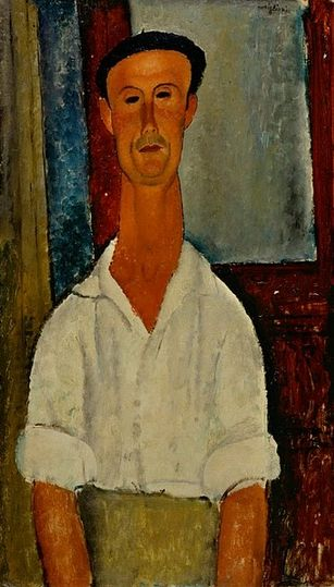 Modigliani 'Gaston Modot' (1918)