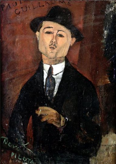 Modigliani 'Paul Guillaume, Novo Pilota' (1915)