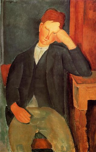 Modigliani 'The Young Apprentice' (1917 - 19)