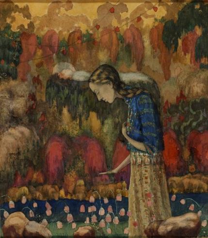 Ivan Kliun 'Portrait of the Artist's Wife (1910)