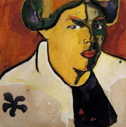 Kazimir Malevich 'Portrait' (1910)