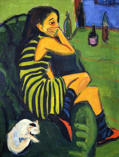 Kirchner 'Artist - Marcella' (1910)