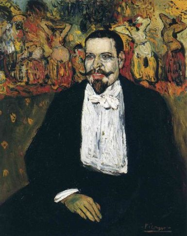 Picasso 'Portrait of Gustave Coquiot' (1901)
