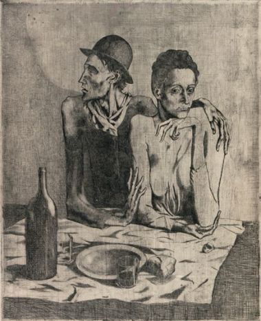 Picasso 'The Frugal Meal' (1904)