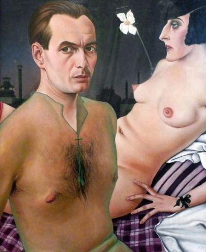 Christian Schad 'Self-Portrait' (1927)