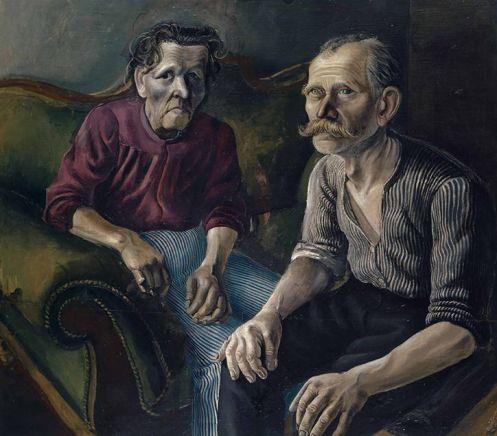 Dix 'The Parents I' (1921)