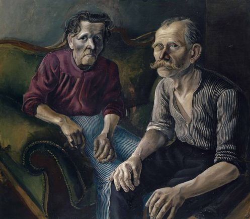 Dix 'The Parents I' (1921)
