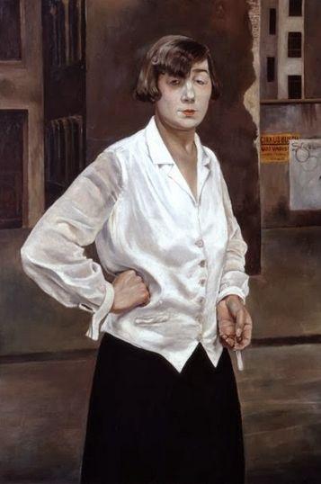 Rudolf Schlichter 'Margot' (1924)
