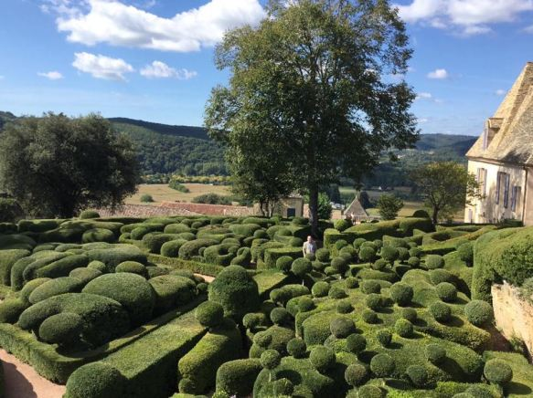 The Hanging gardens of Marqueyssac in Dordogne