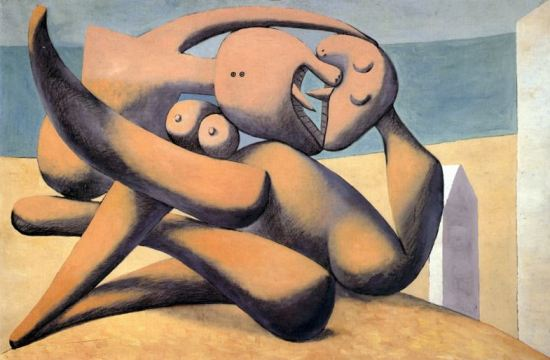 Picasso 'Figures au bord de la mer' (1931)