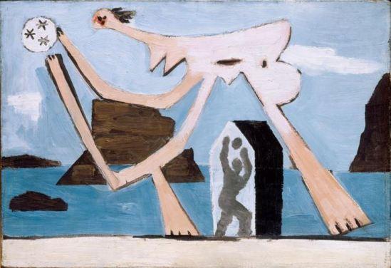 Picasso 'Joueurs de ballons sur la plage' (1928)