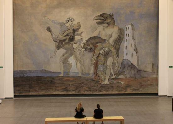 Picasso 'La dépouille du Minotaure en costume d'Arlequin' (1936)