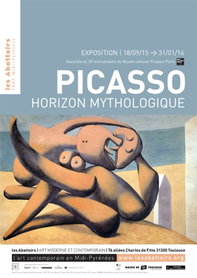 Picasso Toulouse poster